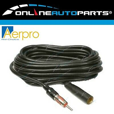 5 meter Car Antenna Extension Cable Auto Radio Stereo Aerial Lead 500cm Long