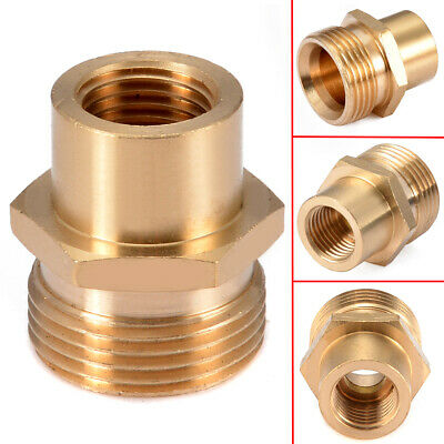 """Pressure Washer Lance Adapter 1/4"""" Female x M22 -14mm Male for Kranzle Karcher"""