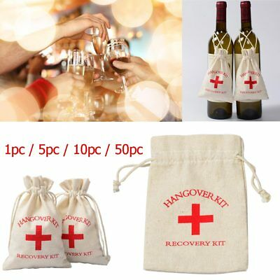 1/5/10/50pc Bachelorette and Birthday Party Hangover Recovery Kit Party Favors