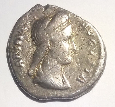 Ancient Roman Empire Silver Coin Sabina wife of Hadrian 117AD-138AD Scarce Issue