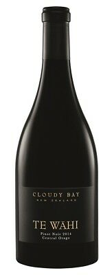 Cloudy Bay `Te Wahi` Pinot Noir 2014 (6 x 750mL), Central Otago, NZ.