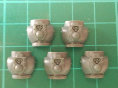 5 space marine torso rears new style 40k parts