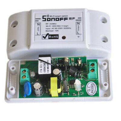 Sonoff RF Wifi Smart Switch Timer IOS/Android APP Remote Control for Home Socket