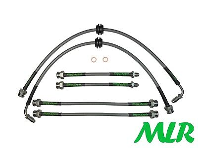 Fiat Coupe 2.0 20V Turbo Stainless Steel Braided Brake Lines Hoses Pipes Vn