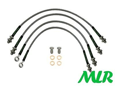 Tvr Griffith Chimaera Stainless Steel Braided Brake Lines Hoses Pipes Kit Wc