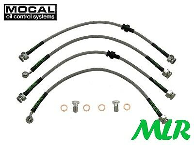 Mazda Rx7 Turbo Fd 1992 - 2002 Aeroquip Braided Brake Lines Hoses Pipes Xa