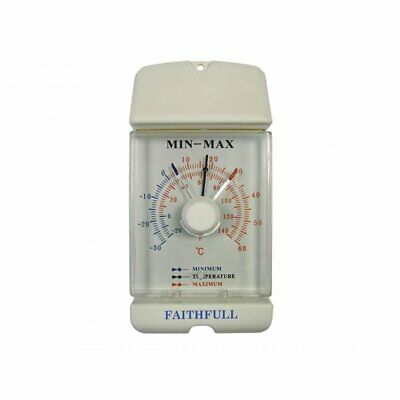 Faithfull FAITHMMDIAL Dial Max Min Thermometer