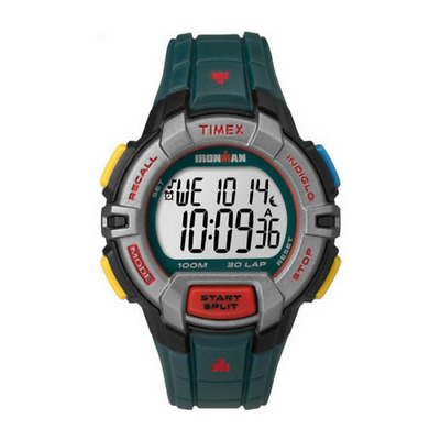 New Timex Ironman 30-Lap Rugged Full Size Fitness Watch Blue - Tw5M02200