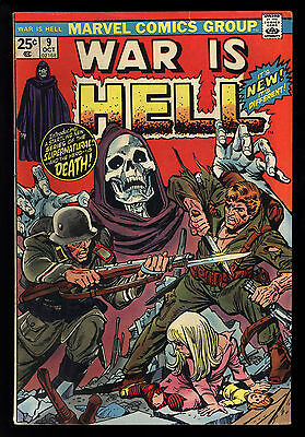 War Is Hell (1973) #9 1st Print 1st App Death Loved By Thanos Claremont VG/FN