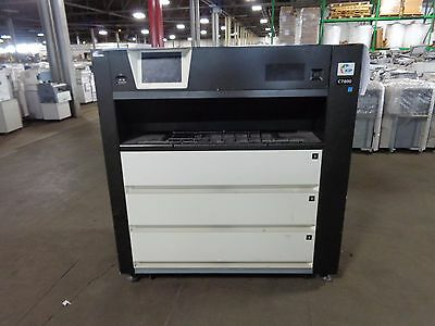 KIP C7800  Color Wide Format Production Printer 193900.9 Linear Feet Printed