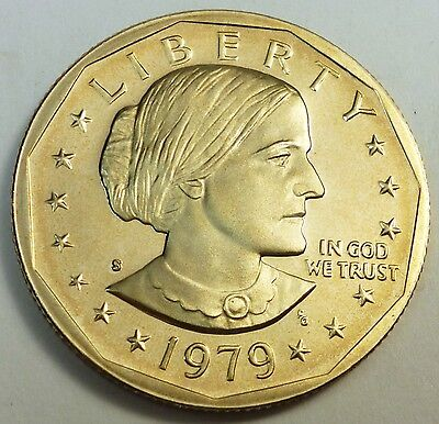 1979-S United State Susan B. Anthony Dollar Proof Strike - Type 2
