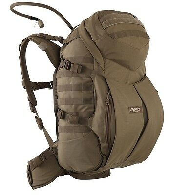 Source Double D Hydration 3 Day Cargo Pack Coyote Rucksack