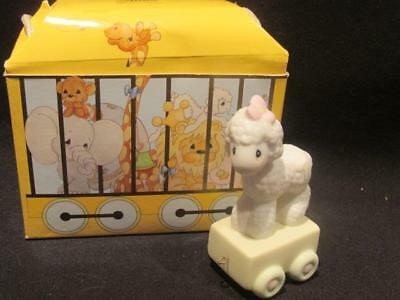 Happy Birthday Little Lamb Precious Moments Birthday Series 1Yr Old Train Piece