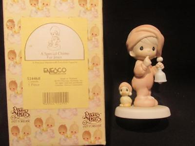 A Special Chime for Jesus Precious Moments 1993 Figurine  #524468 with Box