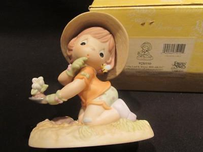 The Lord is Always Bee-Side Us Precious Moments 2001 Figurine  #928550 with Box