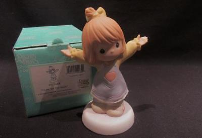 I Love You This Much Precious Moments 2005 Figurine  #4001668 with Box