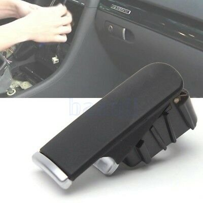 Glove Box Lock Lid Handle Puller No Hole Black For Audi A4 B6 B7 2002-2008 FA