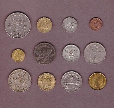 Thailand - Coin Collection - Lot #B - World/Foreign/Asia