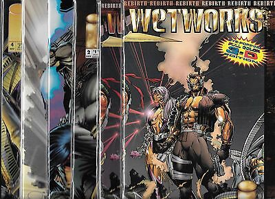 Wetworks Lot Of 14 #1 #2 #3 #4 #5 #6 #7 #8 #9 #10 #11 #12 3-D #1 Variant #2 (Nm-