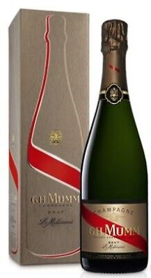 G. H. Mumm `Cordon Rouge` Champagne Millesime 2008 (6 x 750mL Giftbox).