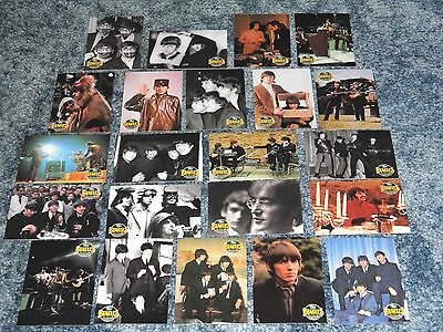 Lot of 22 Beatles Trading Cards, Paul McCartney, John Lennon, George, Ringo Band