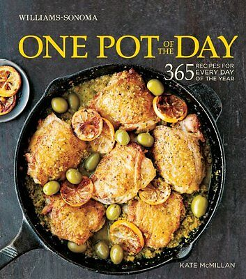 ONE POT OF THE DAY __ 365 RECIPIES __ KATE McMILLAN __ BRAND NEW __ FREEPOST UK