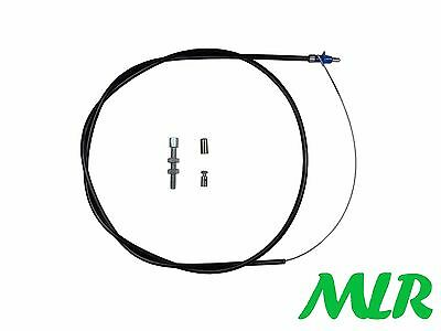 "Universal Throttle Cable Kit 53"" Long Kit Car Weber Dellorto Caterham Dax Arv"