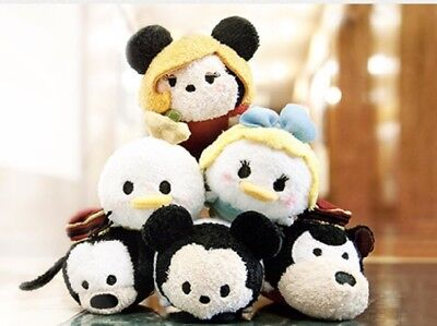 Disney Tsum Tsum TOWER OF TERROR MICKEY MINNIE DONALD DAISY GOOFY.. Set Of 6 NWT