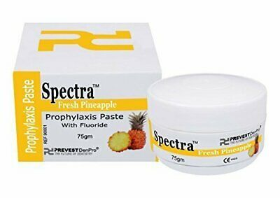 Prevest Denpro Spectra Pineapple PROPHY PASTE WITH FLUORIDE Free Shipping.