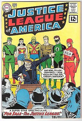 Justice League Of America #8, Dc 1962, Fn+ Condition
