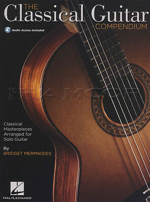 The Classical Guitar Compendium TAB & Standard Notation Music Book with Audio