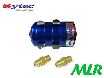 Fse Sytec Motorsport Bullet F2 Fuel Filter -8Jic Fittings Carb Or Injection Bbvb