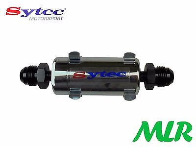 Fse Sytec Motorsport Mini Bullet Fuel Filter -8Jic Fittings Carb / Injection Bbi