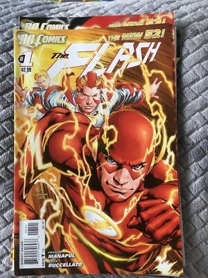 The Flash New 52 Issues 1-5 Rare Townsend & Reis Variant Issue 1 Included