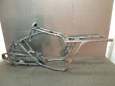 03 Kawasaki Mojave 250 Ksf250 Frame Chassis W/ T Ready To Register A