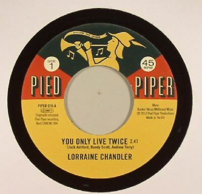 """CHANDLER, Lorraine/THE PIED PIPER PLAYERS - You Only Live Twice - Vinyl (7"""")"""
