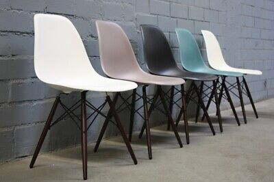 Vitra Chair DSW by Charles Eames Farbauswahl Plastic Wood