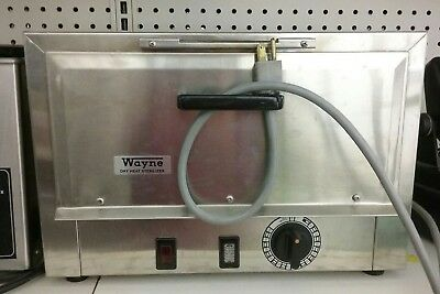 Wayne FDA Dry Heat Sterilizer S-500 2 Tray - Dental Tattoo Barber Salon 2 Trays