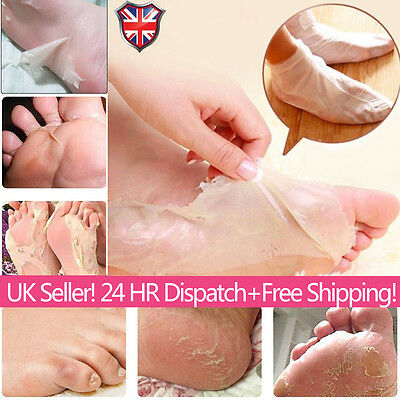 1-6 Pair Exfoliating Foot Mask Dead Skin Callus Peel Care Baby Soft Feet Remove