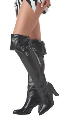 Pirate Deluxe Boot Covers Adult Costume Accessory Shoes
