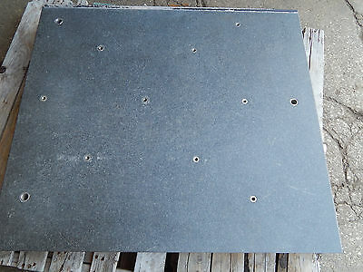 "Black Granite Top 37-1/8""(37.125"") x 32-5/8""(32.625"") x 4-1/8""(4.125"")"