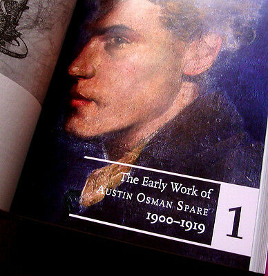 A Survey of AUSTIN OSMAN SPARE by Wallace / HARDCOVER OCCULT RARE C93 NWW TOPY