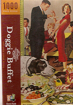 English Springer Spaniel Saturday Evening Post Puzzle 1000 piece Dick Sargent