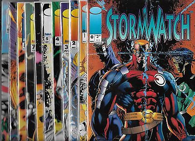 Stormwatch Lot Of 11 - #0 #1 #2 #3 #4 #5 #6 #7 #8 #9 #10 Variant Cover (Nm-)