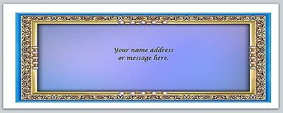 30 Personalized Return Address Labels Buy 3 get 1 free (bo 635)
