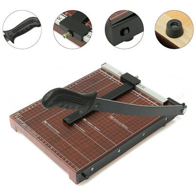 "18"" Paper Cutter Trimmer Craft Scrap Booking Desktop Sheet Office Adjustable HOT"