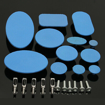 12Pcs  PDR Tools Paintless Dent Repair Glue Pulling Tabs Puller Hail Removal