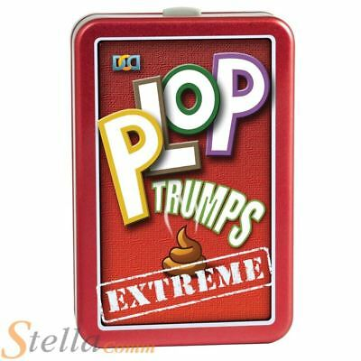 Cheatwell Games Plop Trumps Extreme Animal Poo Dung Card Game Novelty Gift Kids