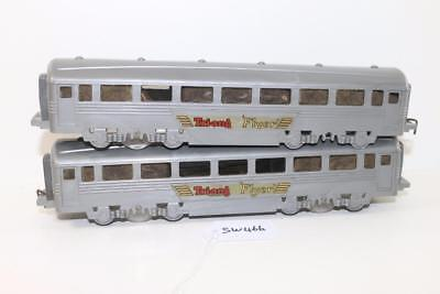 Triang Minic Push & Go 2 x Tri-ang Flyer coaches FNQHobbys SW466