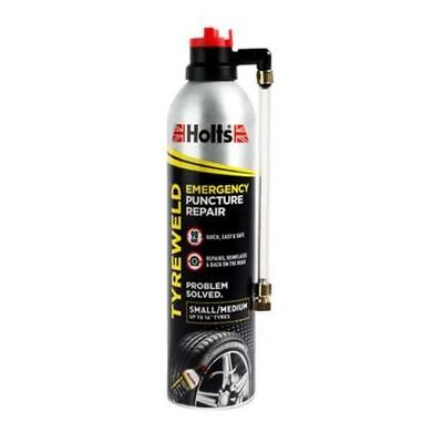 Holts HT3YA Professional Tyreweld Emergency Puncture Repair 400ml 6 Pack